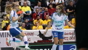 Veera och Oona Kauppi, VM 2017.