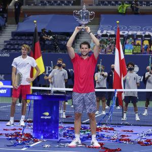 Dominic Thiem vann US Open