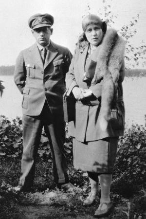 """Den """"ryska fursten"""" Boris Wolkowski fungerade som den """"tyska adelsdamen"""" Minna Crauchers chaufför."""