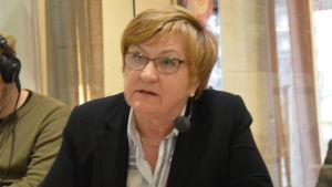 Samlingspartiets Ulla-Maija Vierimaa.