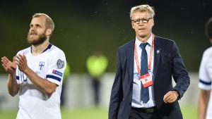 Teemu Pukki och Markku Kanerva.