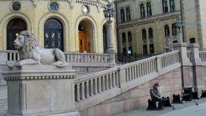 Stortinget i Oslo.