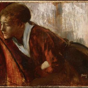 Edgar Degas'n maalaus Melancholy