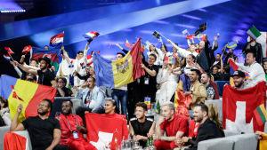 Euroviisujen Semifinaali 2:n Green Room