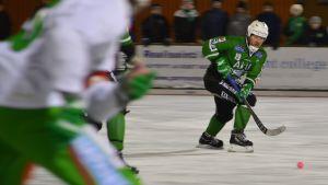 Rasmus Lindqvist i Borgå Akilles 25.01.17
