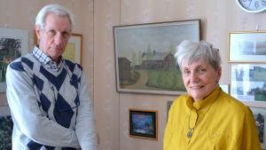 Sune enholm och Lisbeth Grönholm.