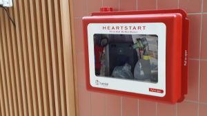 Defibrillator.