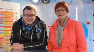 Kennet Lindholm och Kerstin Ståhlberg.