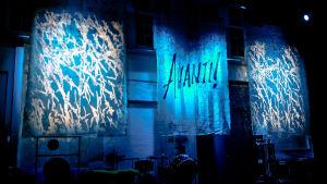 Ljussättning efter konsert 30.0.2018