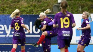Anni Miettunen gjorde även mål i cupfinalen för ett par veckor sedan.