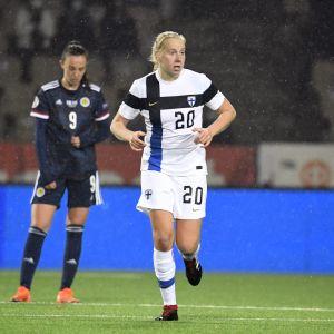 Eveliina Summanen gjorde sitt tredje mål i landslagströjan.