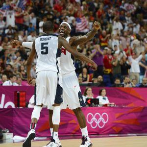 Kevin Durant och LeBron James
