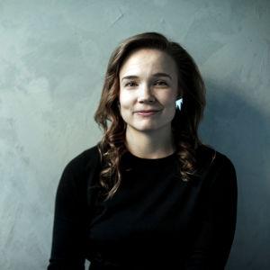 Katariina Uusitupa, evenemangsproducent för helsingforsiska We Jazz-kollektivet