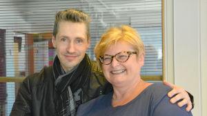 Janne Engblom och Ulla Fellman-Nordell