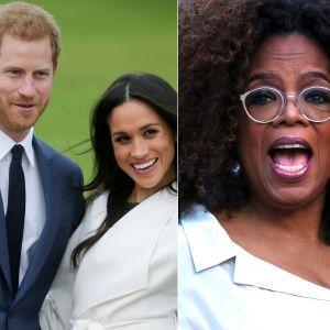 Hertigparet av Sussex har gett en intevju till Oprah Winfrey om sitt uppbrott från det brittiska kungahuset.