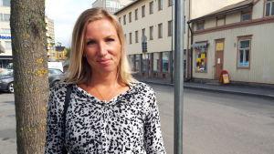 Direktör Paula Erkkilä på Österbottens handelskammare