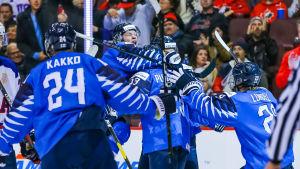 Finland vann JVM-finalen över USA med 3-2.