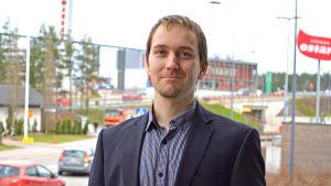 Christoffer Masar, förvaltningsdirektör i Kyrkslätt.