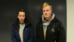 Tanja Michelsson och Johan Sundbäck