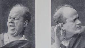 Exempel ur A. Borées Physiognomische Studien (1899)