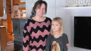 Heidi och Jonna Hagnäs.