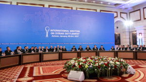 Syrienkonferens i Astana, Kazakstan.