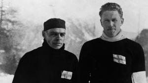 Clas Thunberg och Ossi Blomqvist 1932.