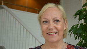 Pargas stads informationschef Anne-Maarit Itänen.