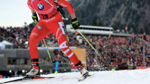 Dorothea Wierer i Ruhpolding 2015.