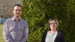 Nils-Johan Englund och Anci Jylhä.