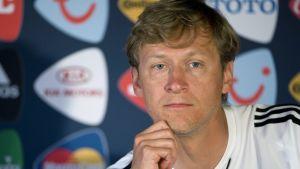 Markku Kanerva vid U21-EM 2009.