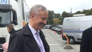 Siim Kallas lämnar presidentvalet i Estonia