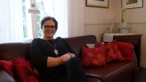 Servicechef i Vanda, Anna Cantell-Forsbom