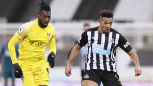 Fulham och Newcastle möts i Premier League.