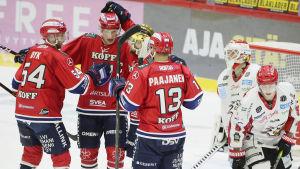HIFK jublar mot Sport.