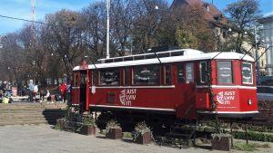 Just Lviv it, stadens engelskspråkiga slogan.