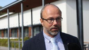Rektor Martin Hartman från Skärgårdshavets skola