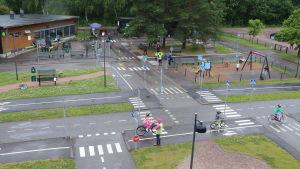 Barnens trafikstad i Helsingfors
