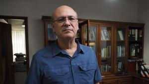 Carlos Fernando Chamorro är chefredaktör vid tidningen Confidencial