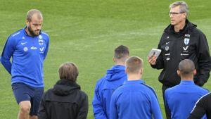 Markku Kanerva leder landslaget.