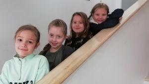 Lydia Backman, Felicia Malmqvist, Noelle Armstrong, Maija Nyman.