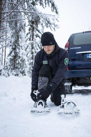 Jakt- och fiskeövervakare Tobias Peura.