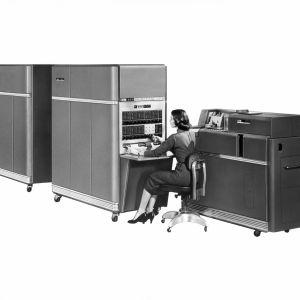 IBM 650 -tietokone.
