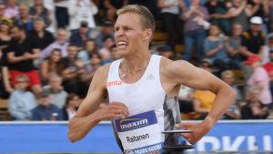 Topi Raitanen imponerade stort i Paavo Nurmi Games den 11 juni.