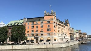 Regeringsbyggnaden Rosenbad i Stockholm.
