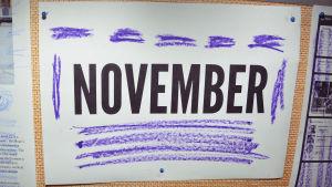 November - inte en favoritmånad precis.