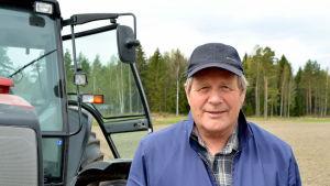 Jordbrukare Bo-Johan Johansson i Tirmo i Borgå.