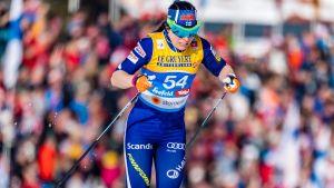 Tremilen blir Krista Pärmäkoskis sista chans att ta en VM-medalj i Seefeld.