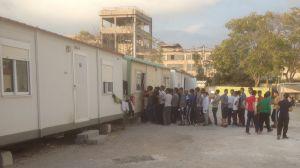 Klädkö på flyktingförläggningen Eleonas i Aten, Grekland.
