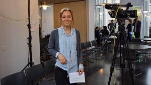 Walldén är en av deltagarna i debatten